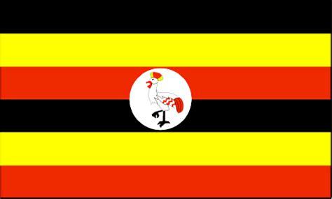 black yellow red flag uganda flag and description