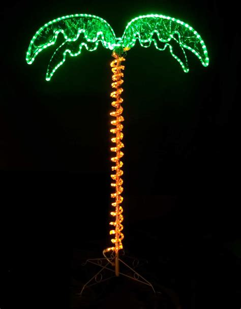 christmas light palm tree christmas decorating