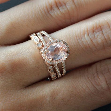best 25 gold morganite ring ideas on
