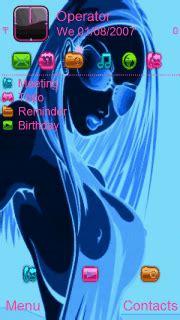 girl themes nokia download neon girl nokia theme mobile toones