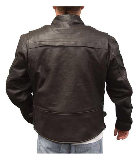 cowhide jacket redline mens cowhide leather touring motorcycle jacket w