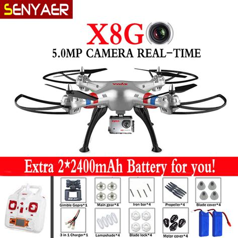 Syma Rc Quadcopter X8g Fpv Real Time 4ch 24ghz With 5mp Hd aerial photography drone syma x8g quadcopter 5 0mp fpv real time wifi hd with wide angle