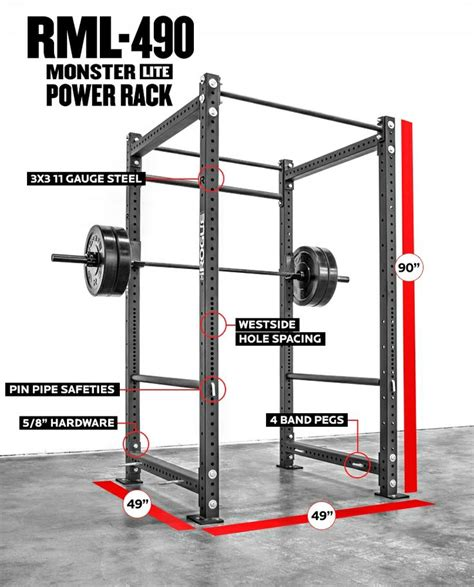 Power Rack Design by Rogue Rml 490 Power Rack Plans Rogue Powers And Weight