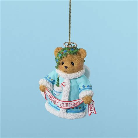2012 bell christmas ornament cherished teddies 4023641