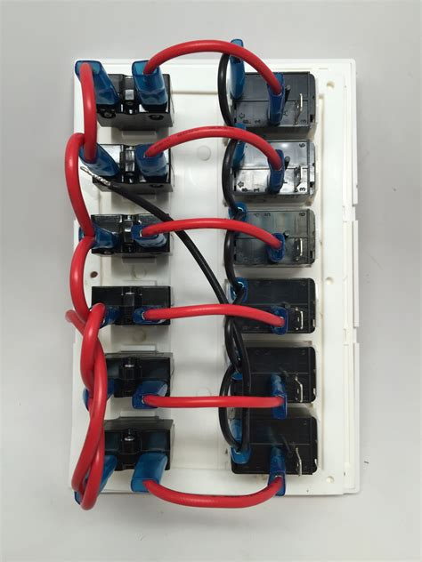 marine switch panel wiring diagram 34 wiring diagram