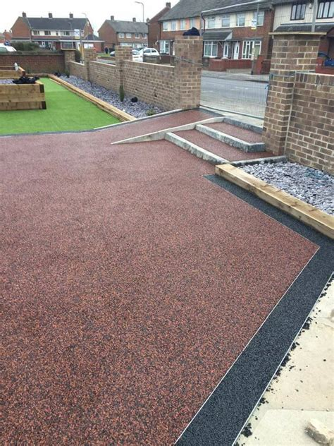 resin bound driveway forest drives resin bound daltex red dried gravel 1 3mm resin bound