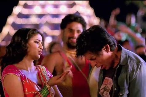film china express song shah rukh khan grooves like a professional dancer in