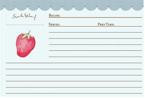 free printable recipe card template for mac 300 free printable recipe cards