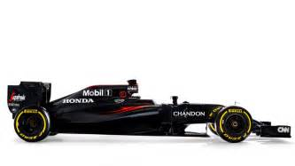 F1 Cars Mclaren In The Black As They Launch Their 2016 Car The