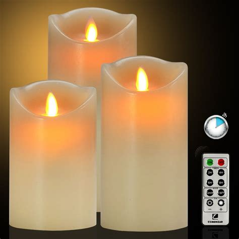 Emerson Flameless Candles With Timer by Flameless Candles Battery Operated Candles With Remote