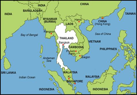 map of se asia thailand stones of history