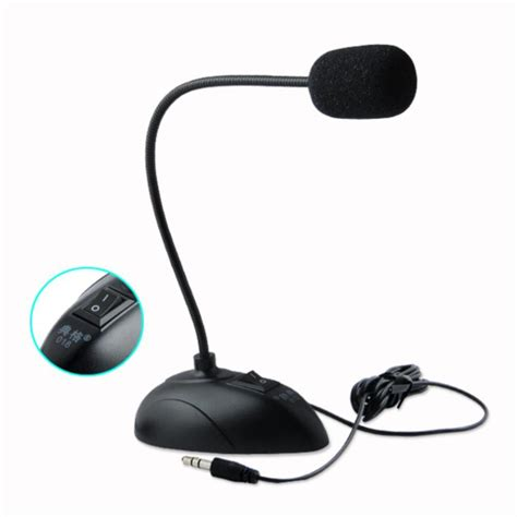 Mini Microphone For Notebook Computer ycdc stand mini studio speech microphone 3 5mm