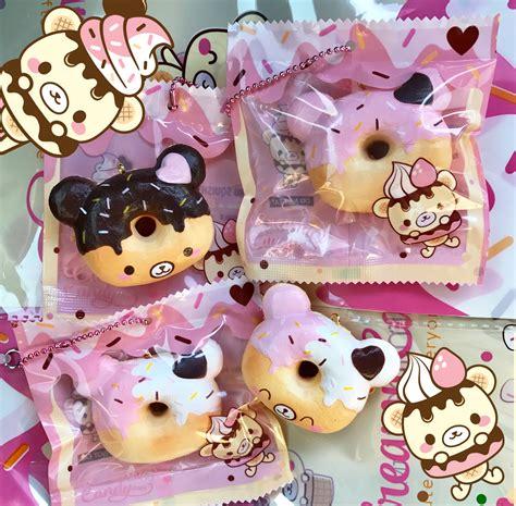 squishy donat meses smile yummiibear creamiicandy mini donut squishy x puni maru
