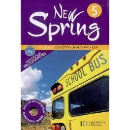 allemand 5e lv1 ou new spring anglais 5e lv1 livre de l eleve edition 2007