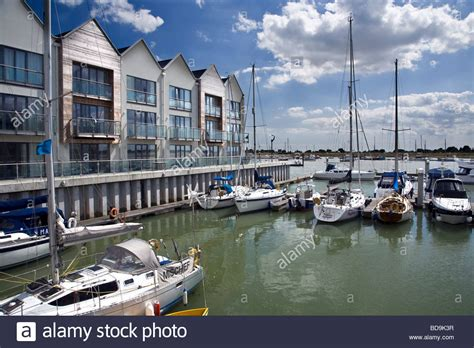 Marina Appartments by Boats Moored At The New Waterside Marina Apartments At