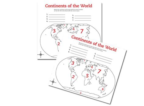 Continents Worksheets by Continents Of The World Worksheets Continents Of The World Maps Geography