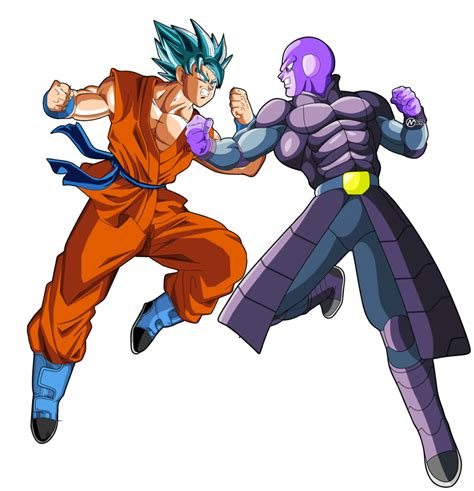 imagenes de goku hit y jiren goku vs hit by naironkr on deviantart