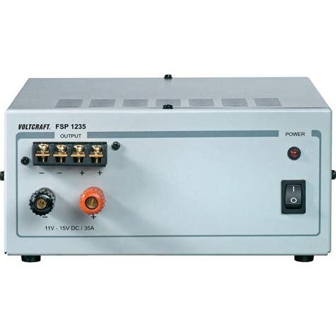 bench psu bench psu fixed voltage voltcraft fsp 1235 11 15 vdc