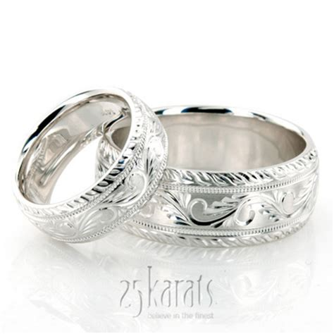 Wedding Rings Matching Sets by Wedding Band Sets His And Hers Wedding Bands Matching