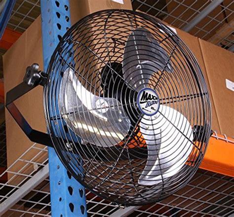 maxxair wall mount fan maxxair hvwm18 wall mount with 18 inch fan import it all