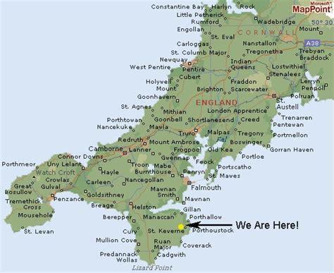 cornwall map map of cornwall cornwall and and scotland 2016