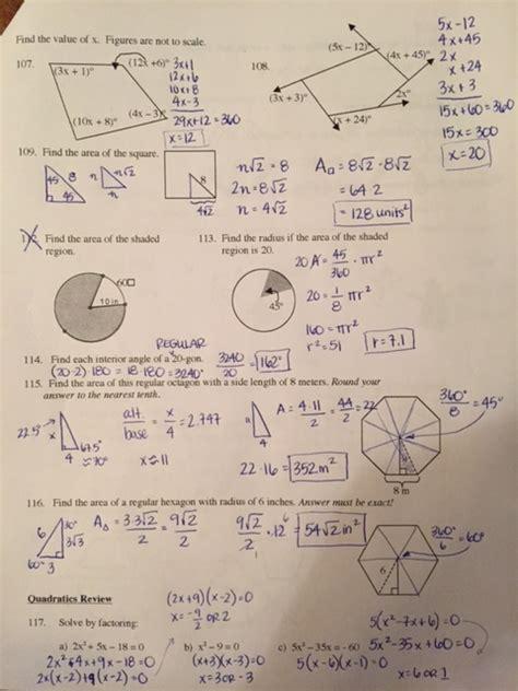 shaded area problems geometric probability worksheet