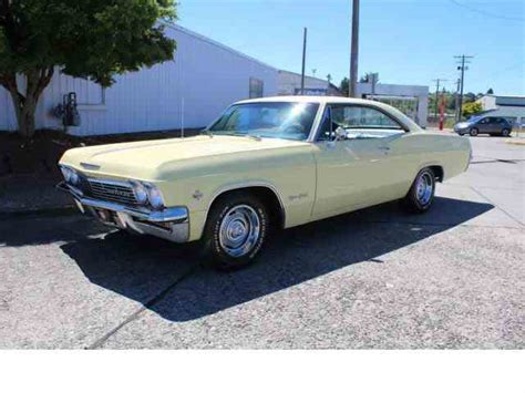 65 impala convertible for sale 1965 chevrolet impala for sale on classiccars