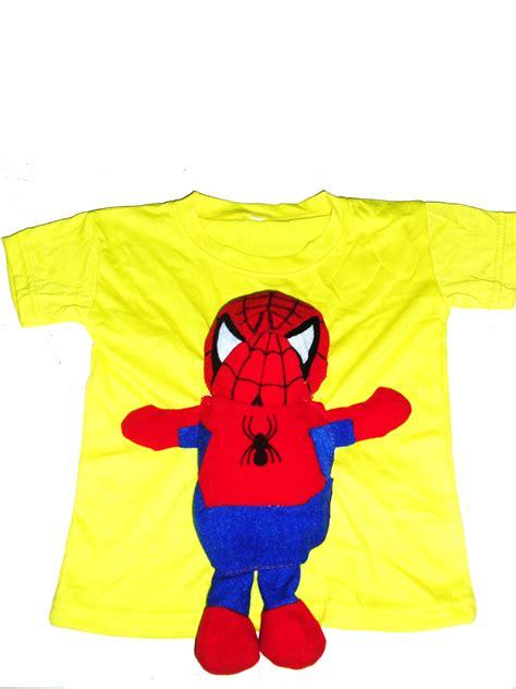 Kaos Amazing Spider 07 Murah Kaos Distro Murah Rabbani Distro erlin fashion kaos boneka