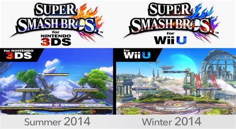 wii has bad graphics system smash bros 3ds wiiu celebrating 15 years of