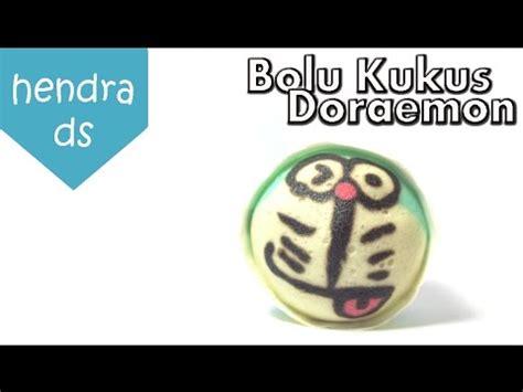 cara membuat lu hias karakter cara membuat bolu kukus karakter doraemon seri bolu kukus