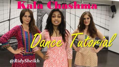 tutorial dance on kala chashma kala chashma baar baar dekho dance tutorial mirrored