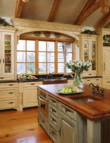 French Country Kitchen Design by Kitchens