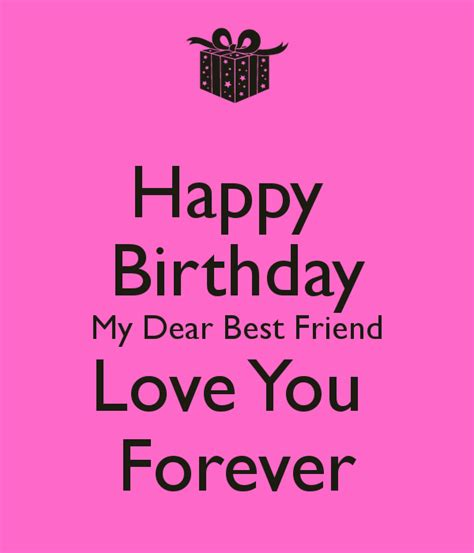 Happy Birthday Quotes To My Best Friend Happy Birthday Dear Friend Quotes Quotesgram