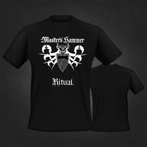 Tshirt Deat Note Europen deathrune master s hammer logo ritual t shirt