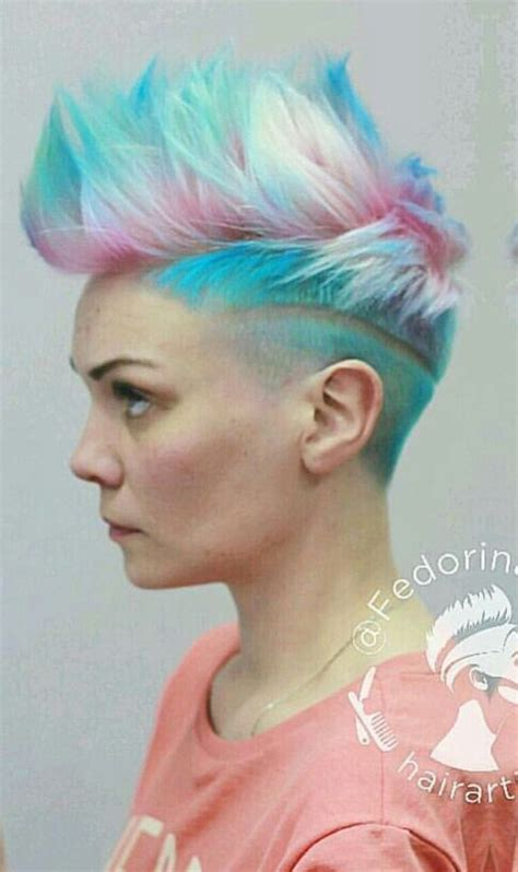 1000 images about coloured shaved and awesome hair on ʜ0ʀʀ0ʀᴛʀᴀsʜ hair color pinterest 헤어 미용 및 헤어 컷