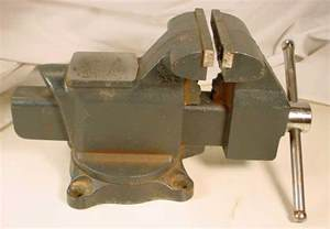 Diagram Of A Bench Vice Craftsman 4 1 2 Inch Bench Vise 51865 Made In Usa Used