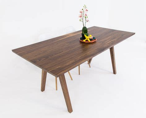 modern mid century solid quot wood dining table quot kitchen buy a hand crafted mid century modern inspired sputnik