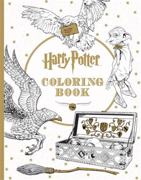 Harry Potter The Coloring Book 1 By Scholastic