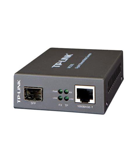 converter link tp link gigabit sfp media converter mc220l buy tp link