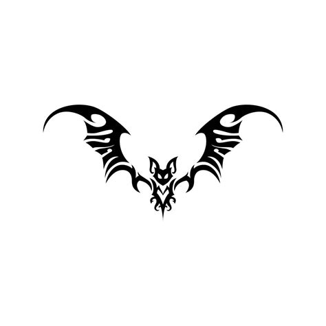 tribal bat tattoo bat tribal animal graphics svg eps png cdr ai pdf