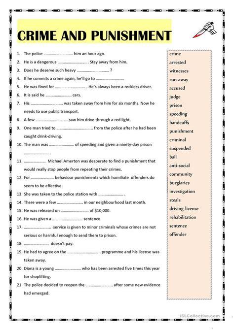 printable criminal justice worksheets criminal law worksheets worksheets releaseboard free