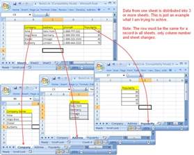 copy cells from one sheet into multiple sheets excel vba