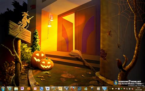 halloween desktop themes windows 7 halloween themes for windows 7