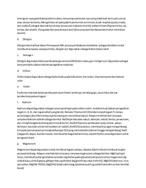 makalah membuat larutan makalah kimia unsur