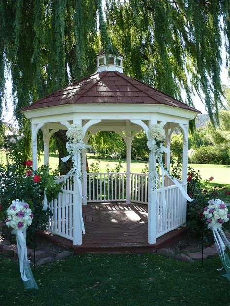 wedding gazebo flowers for your wedding at poco diablo resort weddings