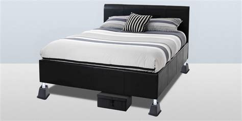 adjustable bed risers 7 best bed risers and lifts 2017 plastic wooden and