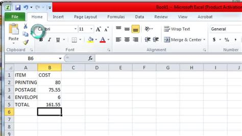 how to make a spreadsheet in excel 14 steps with pictures
