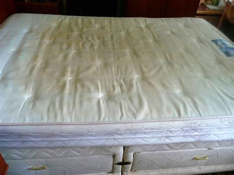 how to clean a wet bed how to clean a soiled mattress