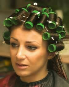 hair set in curlers top 25 ideas about hair curlers and hair rollers and perm