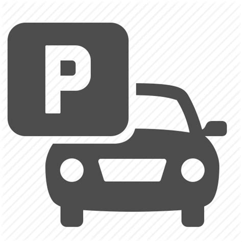 Size Of 2 Car Garage by Car Parking Parking Lot Travel Vehicle Icon Icon